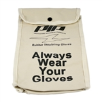 "NOVAX®  Canvas Protective Bag - 11"" - Canvas Electrical Glove Storage Bag, PIP#148-6011, Novax#148-6011, Canvas Hot Glove Bag"