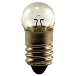 #14 Miniature Bulb E10 Base 10 Pack, G3 1/2 M Screw 2.5V .3A .5CP, 6VC26,#6VC26,14, #14, #14 Miniature, #14 Bulb, #14 Lamp, #14 Miniature Lamp, #14 Indicator, Eiko# 40264,6240-00-797-2650,#6240-00-797-2650,#14 Automotive Bulb,#14 Mini Bulb, CEC#14