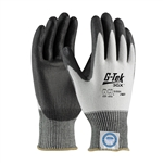 G-Tek 3GX Dyneema Diamond,13G White Shell, Black PU Smooth Grip, A2 Large, PIP#19-D324/L Gloves, G-Tek #19-D324/L Gloves