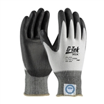 G-Tek 3GX Dyneema Diamond,13G White Shell, Black PU Smooth Grip, A2 Large, PIP#19-D324/XL Gloves, G-Tek #19-D324/XL Gloves