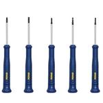IRWIN Tools 1949289 TorqueZone 5 PC Precision Screwdriver Set, IRWIN #1949289, IRWIN 5 Piece Screwdriver Set #1949289
