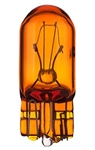 #194NA Amber Miniature Bulb Glass Wedge Base, T3 1/4 Wedge 14V .27A, Natural Amber, 194NA, #194NA, #194NA Miniature, #194NA Bulb, #194 Natural Amber, #194NA Lamp, #194NA Miniature Lamp, #194NA Indicator, Eiko#40432,#194NA Automotive Bulb,CEC#194NA