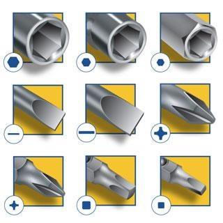 IRWIN Tools 9-in-1 Multi-Tool Screwdriver 2051100