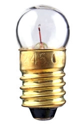 #233 Miniature Bulb E10 Base,G3 1/2 M SCREW 2.33V .25A .55CP,233, #233, #233 Bulb, #233 Miniature Lamp, #233 Miniature, #233 Indicator, #233 Lamp