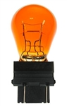 #3057A Amber Miniature Bulb D.F. Wedge Base, S-8 Wedge, 12.8V 32/2CP Amber, 3057A Miniature Bulb, #3057A, 3057A, #3057A Bulb, #3057A Miniature, #3057A Lamp, #3057A Miniature Lamp, #3057A Indicator, Eiko#42621,#3057A Automotive Bulb,CEC#3057A