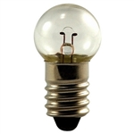#425 Miniature Bulb E10 Base, G4 1/2 M SCREW 5V .25A 2.3CP, #425, 425, #425 Miniature, #425 Bulb, #425 Lamp, #425 Miniature Lamp, #425 Indicator, EIKO #40702