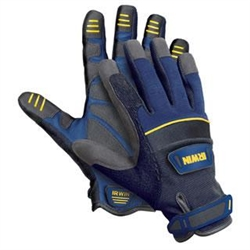 IRWIN Tools 432005 Large General Construction Gloves, IRWIN #432005, IRWIN Large Construction Gloves