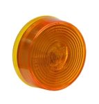"Grote 45823 CLR/MKR Lamp, 2"" Diameter, Amber, Sealed W/Optic Lens, Optronics# MC53ABP, Peterson# 146A, Trucklite# 30200Y, 30204Y, VSM# 1030A, 1030AD, Grote#45823"