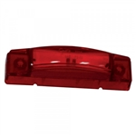 "Grote 47242  Clr/Mkr Lamp, 3"", Red, Supernova® LED Center Thin-Line, Grote#47242, Maxxima# M20340R, M20341R, Optronics# MCL66RBP, Trucklite# 19350R, 35200R, 35880R"