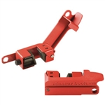 Master Lock 491B - Grip Tight™ Circuit Breaker Lockout, Master Lock #491B, Lockout/Tagout Circuit Breaker Padlock