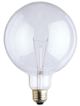"25G40/CL/130V/2M 25 WATT G40 5"" CLEAR GLOBE E26 BASE - 25 WATT G40 5"" CLEAR GLOBE E26 BASE, 25G40/4M, 25G40, 25 WATT G40 5"" CLEAR GLOBE MEDIUM BASE 130 VOLT, 14685, #14685"