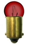#53R RED MINIATURE BULB BA9S BASE, G3 1/2 M BAY 14.4V .12A RED, 53R, #53R, #53R MINIATURE, #53R LAMP, #53R MINIATURE LAMP, #53R BULB, #53R INDICATOR