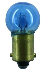 #57B BLUE MINIATURE BULB BA9S BASE,BLUE G6 DC BAY 14V .024A 6CP,57B, #57B, #57B BULB, #57B LAMP, #57B MINIATURE, #57B INDICATOR