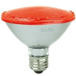 Sunlite 80023-SU PAR30/LED/3W/R E26 Base, 3 Watt 100 Lumen RED L.E.D. PAR30, 80023-SU, #80023-SU LED Red Bulb