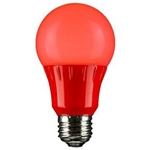 Sunlite 80148-SU A19/3W/R/LED/CD1 3W Red A19,#80148-SU,#80148 LED Bulb