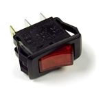 Grote 82-1901 3 Blade Illuminated Rocker Switch, Cole Hersee# 54003, Napa# 786115, Peterson# PMV5530PT, PMV5580PT, PICO# 9413511, Grote #82-1901 ​