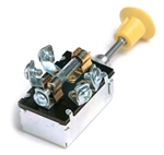 Grote 82-2105 Push Pull Switch, 15 Amp, 5 Screw, On/Off/On,Cole Hersee# 7127, Tectran# 19-1001, Grote#82-2105