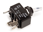 Grote 82-2113 4 Blade Illuminated Toggle Switch, 30 Amp Red, Napa# 786118, 786127, 786136, PICO# 940311, Grote#82-2113