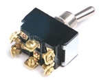 Grote 82-2114 Toggle Switch, 20 Amp, 6 Screw, On/On, Cole Hersee# 5590, Tectran# 19-1026, VELVAC# 90208, Grote#82-2114