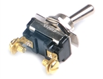 Grote 82-2116 Toggle Switch, 15 Amp, 2 Screw, On/Off, Cole Hersee# 5520, 5558, 5582, Napa# 786106, 786111, 786119, 786130, Peterson# PMV5510PT, PMV5511PT, PICO# 943534, 9435BP, 9447, Tectran# 19-1022, VELVAC# 90177, Grote#82-2116