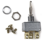 Grote 82-2127 Toggle Switch, 50 Amp, 3 Screw, Mom On/Off/Mom On, Cole Hersee# 55021, Peterson# PMV5543PT, PMV5544PT, PMV5572PT, PICO# 944411, Grote#82-2127