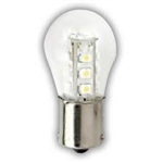 LED 1S8/CL/WARM TONE/12V/BA15S,90607,#90607,LED,L.E.D. BULB, LED LAMP, LED S8 BULB