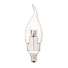 90782 LED 3W FLAME TIP/CL/CAND - SUPERIOR LIFE®,PQL #90782,90782,LED BULB,LED CFC,LED LIGHT BULB