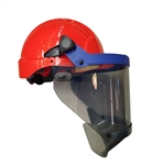 PIP®  Arc Shield with Hard Hat - 12 Cal/cm2 - 12 ARC Rating Face Shield and Hard Hat, USA Made., PIP#9150-56510