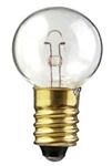 #157 Miniature Bulb E10 Base, G6 M SCREW 5.8V 1.1A 8.1CP, 157, #157, #157 Bulb, #157 Lamp, #157 Miniature Lamp, #157 Indicator
