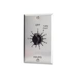 TORK C512H In-Wall Springwound Interval Time Switch, TORK #C512H, TORK SPDT Mechanical Timer #C512H