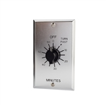 TORK C560M In-Wall Springwound Interval Time Switch, TORK#C560M, 60 Minute Wall Timer #C560M