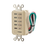 TORK D1060M Electronic 2/4/8/12 Hour Wall Switch Timer 15A 120V Ivory,TORK# D1060M, D1060M Countdown Timer