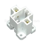 G23 & G23-2 BASE CFL VERTICAL SCREW DOWN SOCKET, CFL SOCKET, CFL SOCKET, COMPACT FLUORESCENT SOCKET, PL SOCKETS, G23 SOCKET, G23-2 SOCKET, G23 CFL SOCKET, G23-2 CFL SOCKET, FLUORESCENT SOCKETS