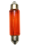 #E211-2/A T-3 Amber Festoon SV8.5MM Base, T3 D END CAP 12.8V .97A 12CP, E211-2A, #E211-2A, Amber Festoon, #E211-2 Amber