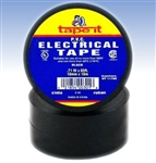 Black Electrical Tape, E66, Black PVC Electrical Tape, Black Tape, Black Electric Tape, Black Electrician's Tape, Tape It #E66, Black Phase Tape, Black Phasing Tape