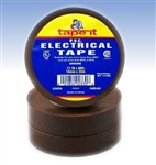 Brown Electrical Tape, E66BN, Brown PVC Electrical Tape, Brown Tape, Brown Electric Tape, Brown Electrician's Tape, Tape It #E66BN, Brown Phase Tape, Brown Phasing Tape