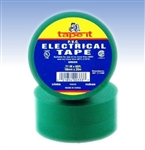 Green Electrical Tape, E66GN, Green PVC Electrical Tape, Green Tape, Green Electric Tape, Green Electrician's Tape, Tape It #E66GN, Green Phase Tape, Green Phasing Tape