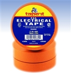 Orange Electrical Tape, E66OR, Orange PVC Electrical Tape, Orange Tape, Orange Electric Tape, Orange Electrician's Tape, Tape It #E66OR, Orange Phase Tape, Orange Phasing Tape