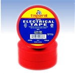 Red Electrical Tape, E66R, Red PVC Electrical Tape, Red Tape, Red Electric Tape, Red Electrician's Tape, Tape It #E66R, Red Phase Tape, Red Phasing Tape