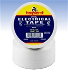 White Electrical Tape, E66WH, White PVC Electrical Tape, White Tape, White Electric Tape, White Electrician's Tape, Tape It #E66WH, White Phase Tape, White Phasing Tape