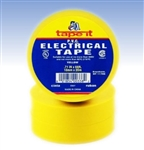 Yellow Electrical Tape, E66Y, Yellow PVC Electrical Tape, Yellow Tape, Yellow Electric Tape, Yellow Electrician's Tape, Tape It #E66Y, Yellow Phase Tape, Yellow Phasing Tape