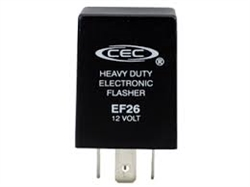 EF26 12V 12A 4 Pin Electronic Flasher, EF26 Electronic Flasher,#EF26,EF26 Combination Turn Signal and Hazard Electronic Flasher,#EF26 Flasher,#EF26 Automotive Flasher
