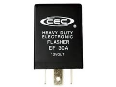EF30A 12V 15A 3 Pin Alternating Flasher, EF30A Electronic Flasher,#EF30A Automotive Flasher,EF30-A Flasher,2FNE4,#2FNE4 Flasher,CEC EF30A Alternating Electronic Flasher