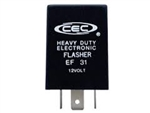 EF31 12V 25A 3 Pin Electronic Flasher, CEC# EF31 Electronic Flasher,#EF31,Variable Load Electronic Load Flasher,#EF31 Flasher,#EF31 Automotive Flasher