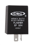 EF32H 12V 25A 2 Pin Heavy Duty Flasher, EF32H Electronic Flasher,#EF32H,Heavy Duty Flasher,#EF32H Flasher,EF32H Automotive Electronic Flasher,CEC Flasher #EF32H,#EF32H Auto Flasher, Heavy Duty 25A 12V 2 Pin Flasher