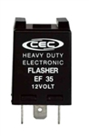 EF35 12V 12A 3 Pin Electronic Flasher, FSH7060 Flasher, 760 Flasher, 44893 Flasher, 87400 Flasher, 760 Flasher, FLR760 Flasher, EP35 Flasher, 264D Flasher, EFL9 Flasher, EFL10 Flasher, 264 Flasher, EF35 Automotive Flasher, CEC EF35 Auto Flasher
