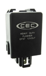 EF57 12V, 12A, 3 Pin Electronic Flasher, EP57 Flasher, EF57 Automotive Flasher, CEC #EF57 Automotive Flasher, EF57 Auto Flasher, EF57 Electronic Automotive Flasher, EF57 Truck Flasher, EF57 Bus Flasher, CEC EF57 Electronic Flasher