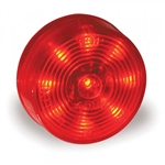 "Grote G3002 Clr/Mkr Lamp, 2"", Red, Hi Count® LED (9 Diode),Maxxima# M09100Y, M34260Y, Optronics# MCL50ABP, Trucklite# 3050A, VSM# 1035A, 1035AD, VSM1035A, VSM1035AD, Grote#G3002"