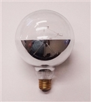 12 Watt G40 Tivoli (Tivolite) Globe 120 Volt With Reflector E26 Base