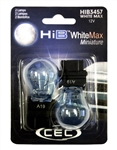 HIB1156WM White Max 2 Piece Blister Pack,
